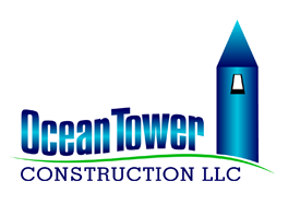 Ocean Tower Construction Logo